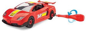 Revell-Monogram Race Car Red