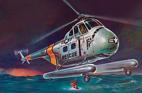 Revell-Monogram 1/48 H19 Rescue Helicopter