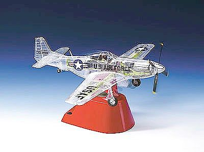 Revell-Monogram Phantom P51D Mustang Clear Version Aircraft (SSP) -- Plastic Model Airplane Kit -- 1/32 Scale -- #67