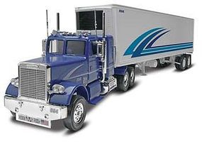 Revell-Monogram Freightliner/Trailer Snap Tite Plastic Model Vehicle Kit 1/32 Scale #85-1981