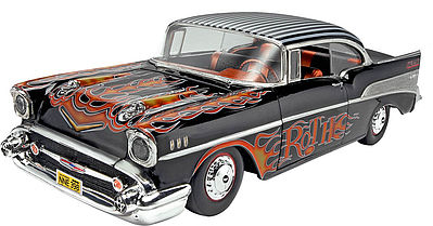 Revell-Monogram 1957 Chevy Bel Air Plastic Model Car Kit 1/25 Scale #85-4306