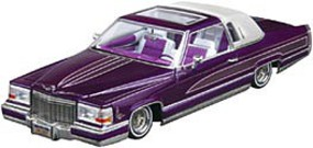 Revell-Monogram Custom Cadillac Lowrider Plastic Model Car Kit 1/25 Scale #85-4438