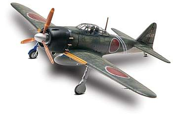 Revell-Monogram Japanese A6M5 Zero -- Plastic Model Airplane Kit -- 1/48 Scale -- #85-5267