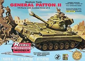 Revell-Monogram M47 Patton Tank Renwal SSP Plastic Model Airplane Kit 1/32 Scale #85-7821