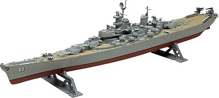 Revell-Monogram USS Missouri Battleship -- Plastic Model Military Ship Kit -- 1/535 Scale -- #850301