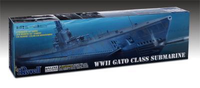 Revell-Monogram 1/72 US GATO Class Sub