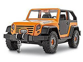 Revell-Monogram Revell Jr Off Road Vehicle Snap Tite Plastic Model Vehicle Kit 1/20 Scale #851003