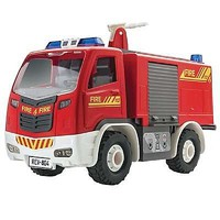 Revell-Monogram Revell Jr Fire Truck Snap Tite Plastic Model Vehicle Kit 1/20 Scale #851004