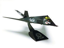 Revell-Monogram F-117A Nighthawk Snap Tite Plastic Model Aircraft Kit 1/72 Scale #851182