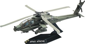 Revell-Monogram Apache Helicopter Snap Tite Plastic Model Aircraft Kit 1/72 Scale #851183