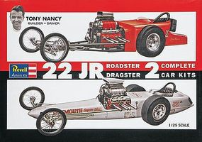 Revell-Monogram Tony Nancy Dragster Set SSP Plastic Model Car Kit 1/25 Scale #851224