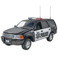 Revell-Monogram Ford Expedition Police SSV Snap Tite Plastic Model Truck Kit 1/25 Scale #851228