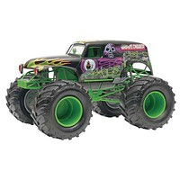 Revell-Monogram Grave Digger Monster Jam Truck Snap Tite Plastic Model Truck Kit 1/25 Scale #851234