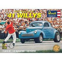 Revell-Monogram Stone/Woods/Cook 41 Willys (SSP) Plastic Model Car Kit 1/25 Scale #851287