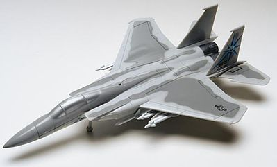 Revell-Monogram F15 Eagle -- Snap Tite Plastic Model Aircraft Kit -- 1/100 Scale -- #851367