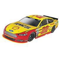 Revell-Monogram Joey Logano #22 Shell Pennzoil Ford Fusion Snap Plastic Model Car Kit 1/24 Scale #851473