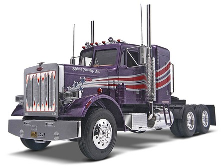 Revell-Monogram Peterbilt 359 Conventional -- Plastic Model Truck Kit -- 1/25 Scale -- #851506