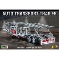 Revell-Monogram Auto Transport Trailer Plastic Model Trailer Kit 1/25 Scale #851509