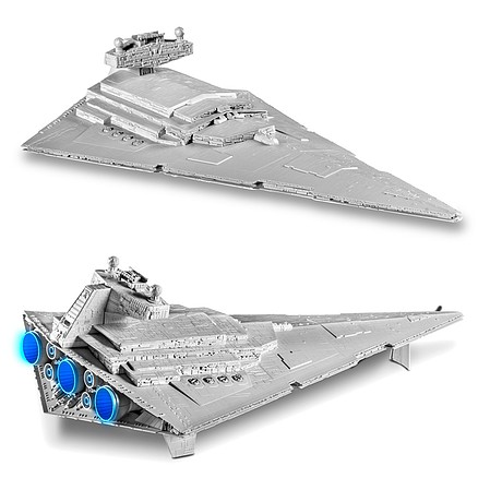 Revell-Monogram Star Wars Imperial Star Destroyer Rogue 1 -- Science Fiction Plastic Model -- 1/4000 -- #851638