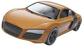 Revell-Monogram Audi R8 Snap Tite Plastic Model Vehicle Kit 1/25 Scale #851687