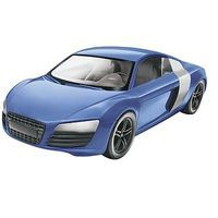 Revell-Monogram Audi R8 Snap Tite Plastic Model Vehicle 1/24 Scale #851690