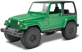 Revell-Monogram Jeep Wrangler Rubicon Snap Tite Plastic Model Car Kit 1/25 Scale #851695