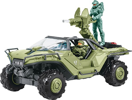 Revell-Monogram HALO UNSC Warthog -- Plastic Model Military Vehicle Kit -- 1/32 Scale -- #851766