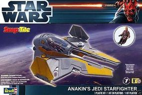 Revell-Monogram Anakins Jedi Starfighter Snap Tite Science Fiction Plastic Model Kit #851877