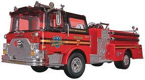 Revell-Monogram Fire Truck Snap Tite Plastic Model Vehicle Kit 1/32 Scale #851945