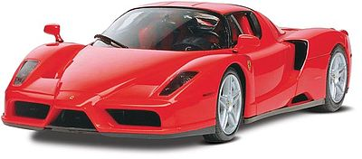 Revell-Monogram Ferrari Enzo -- Snap Tite Plastic Model Vehicle Kit -- 1/24 Scale -- #851967