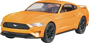Revell-Monogram 2018 Mustang GT Snap Tite Plastic Model Car Kit 1/25 Scale #851996