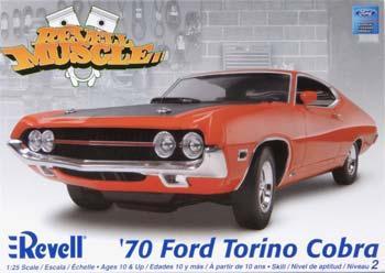 Revell-Monogram 1/25 '70 Ford Torino GT