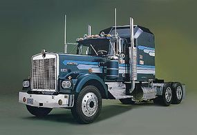 Revell-Monogram Kenworth W-900 Conventional 1/16 Scale Plastic Model Truck Kit #852508