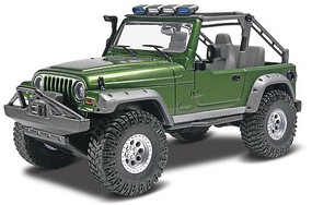2003 Jeep Rubicon Plastic Model Car Kit 1/25 Scale #854053