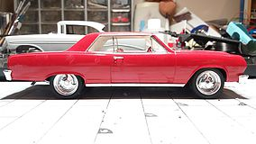 Revell-Monogram 1965 Chevelle SS 396 Z-16 Plastic Model Car Kit 1/25 Scale #854055