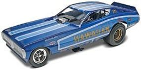 Revell-Monogram Hawaiian Charger F/C Plastic Model Car Kit 1/16 Scale #854082