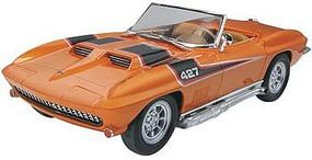 Revell-Monogram 1967 Corvette Convertible Plastic Model Car Kit 1/25 Scale #854087