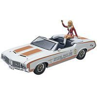 Revell-Monogram 1972 Olds Indy Pace Car with Figure Plastic Model Car Kit 1/25 Scale #854197