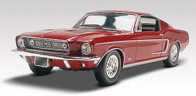 Revell-Monogram 1968 Mustang GT 2n1 Plastic Model Car Kit 1/25 Scale #854215