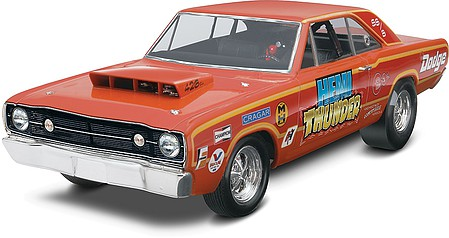 Revell-Monogram 1968 Dodge Hemi Dart 2'n1 -- Plastic Model Car Kit -- 1/25 Scale -- #854217