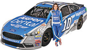 Revell-Monogram #10 Danica Patrick Aspen Dental Ford Fusion Plastic Model Car Kit 1/24 Scale #854219