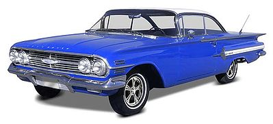 Revell-Monogram 1960 Chevy Impala Hardtop 2'n1 -- Plastic Model Car Kit -- 1/25 Scale -- #854248