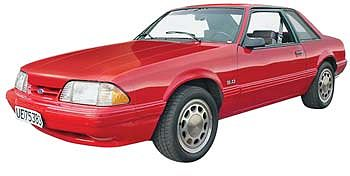 Revell-Monogram 1990 Mustang LX 5.0 2n1 -- Plastic Model Car Kit -- 1/25 Scale -- #854252