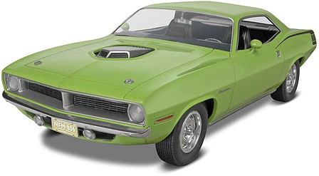 Revell-Monogram 1970 Plymouth Hemi Cuda 2n1 Plastic Model Car Kit 1/25 Scale #854268