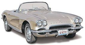 Revell-Monogram 1962 Corvette Roadster 2n 1 Plastic Model Car Kit 1/25 Scale #854277