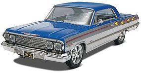 Revell-Monogram 1963 Chevy Impala SS 2n1 Plastic Model Car Kit 1/25 Scale #854278
