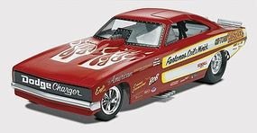 Revell-Monogram Chi Town Hustler Charger Funny Car Plastic Model Car Kit 1/25 Scale #854286