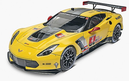 Revell-Monogram Corvette C7.R Plastic Model Car Kit 1/25 Scale #854304