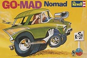 Revell-Monogram Dave Deals Go-Mad Nomad Plastic Model Car Kit #854310