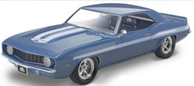 Revell-Monogram '69 Chevy Camaro Yenko -- Plastic Model Car Kit -- 1/25 Scale -- #854314